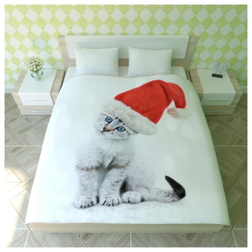 Комплект детского постельного белья NEWTONE Новогодний Пушистик nte340258 фото