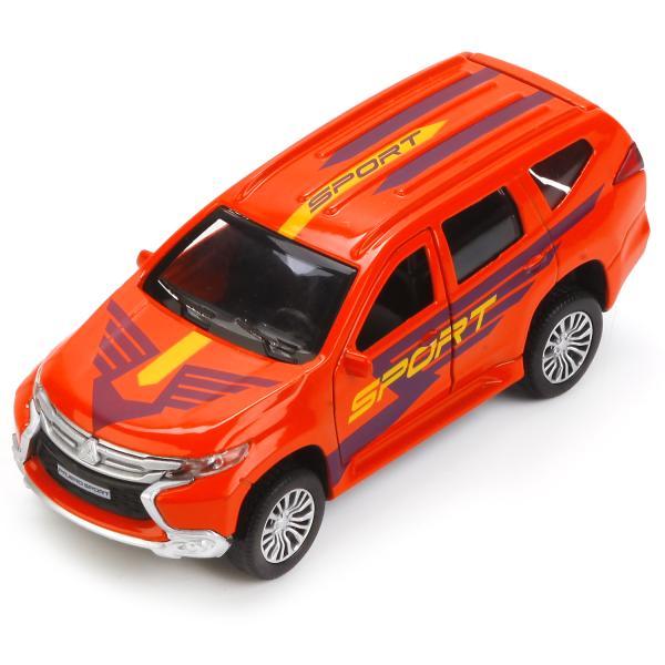 Купить Машинка Технопарк металлическая инерционная mitsubishi pajero sport 12 см, Игрушечные машинки