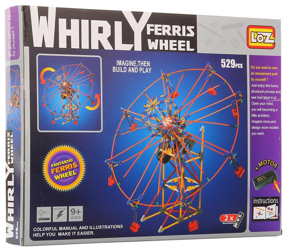 Электромеханический конструктор Loz колесо обозрения P0002
