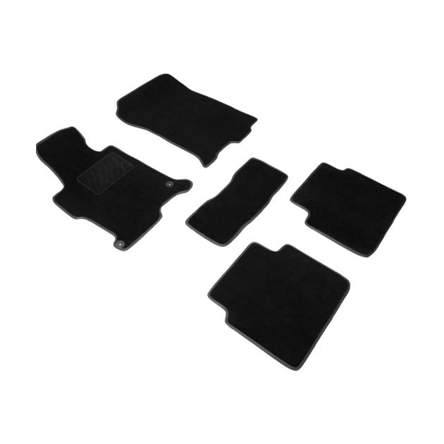 Ворсовые коврики SEINTEX для Honda Accord IX 2012-2019/ 85483