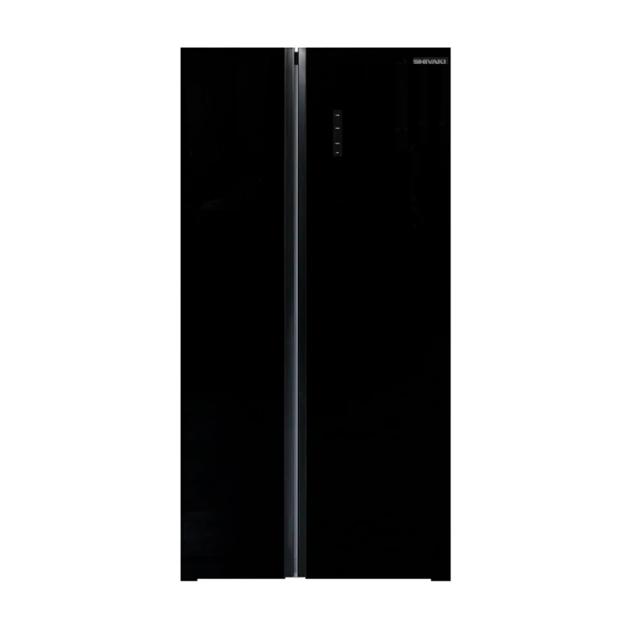 Холодильник Shivaki SBS 574 DNFGBL Black