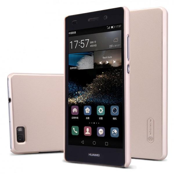 Чехол Nillkin Matte для Huawei P8 Lite Gold