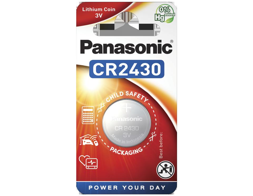 Батарейка Panasonic CR 2430EL/1B 1 шт