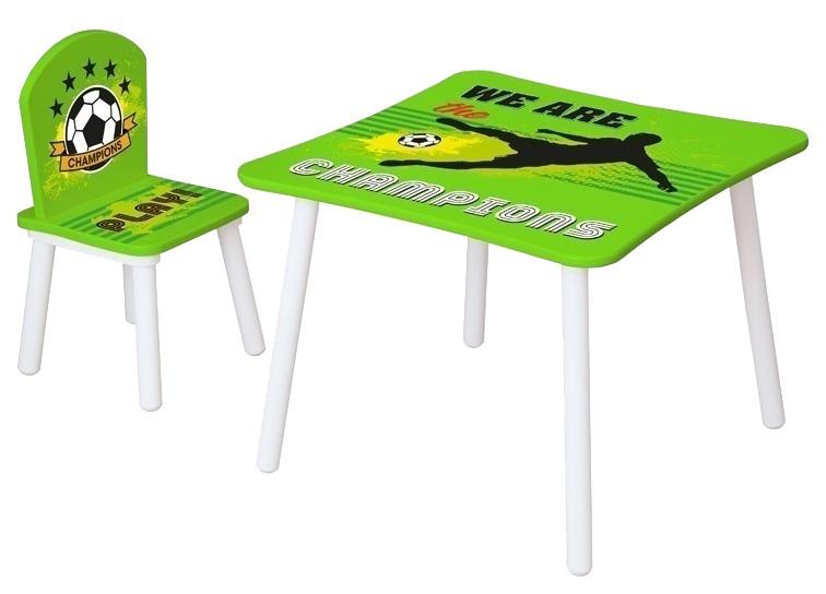 """Стул для комплекта детской мебели Polini kids Fun 145 S """"Футбол"""", зеленый"""