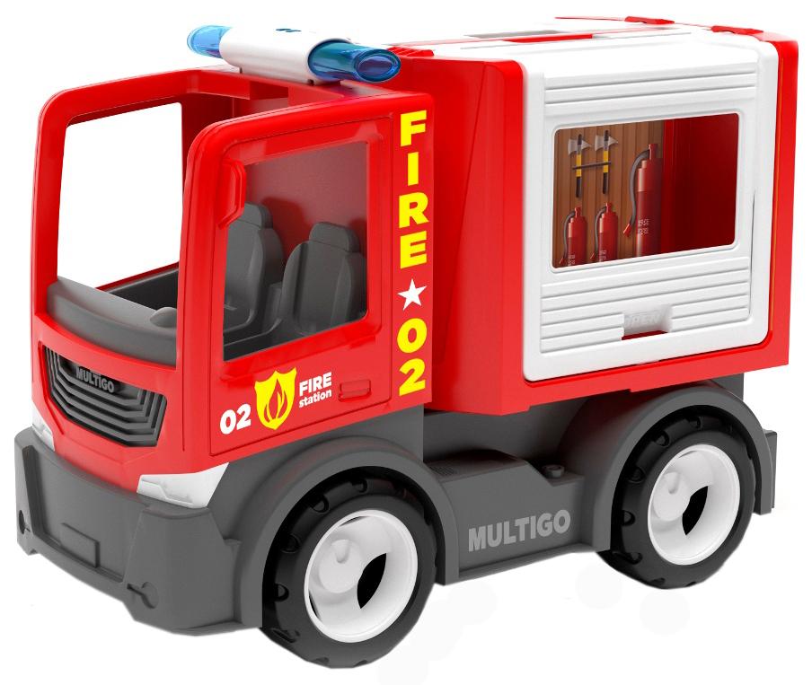 Купить Пожарный грузовик для команды, Efko, Машинки-трансформеры