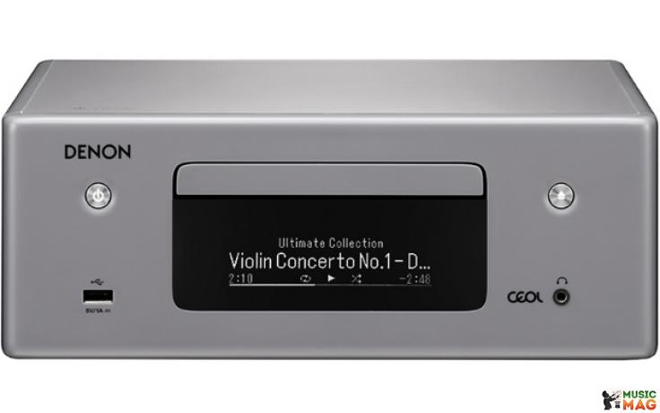 CD проигрыватель Denon RCDN10GYE2 Silver