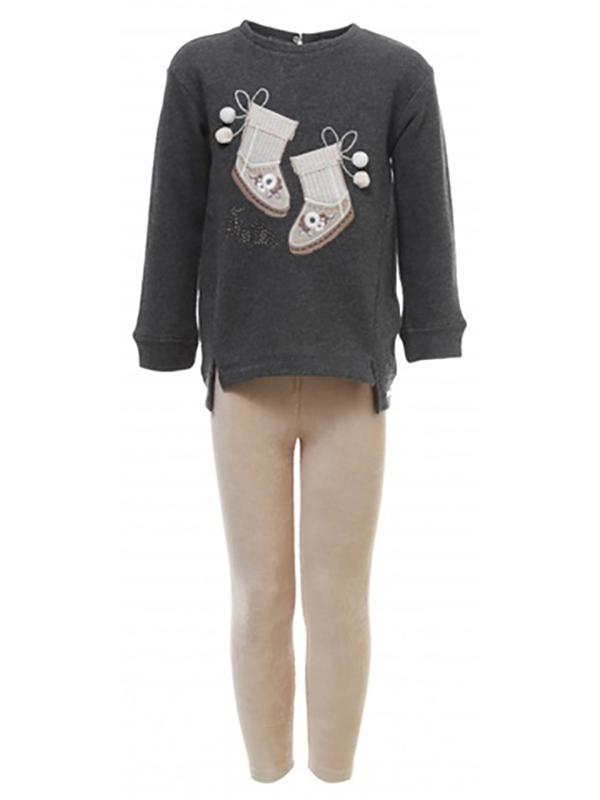 Купить 4, 735/21, Комплект MAYORAL темно-серый р.122, Детские костюмы