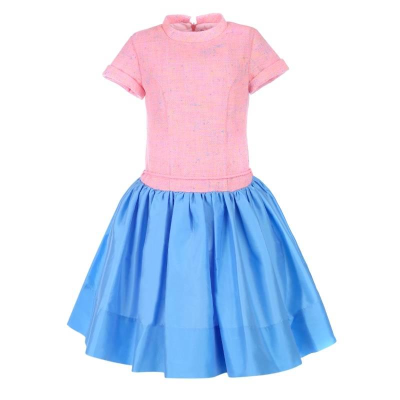 Купить Платье Джессика UNONA D'ART, цв. розовый, 134 р-р, Детские платья и сарафаны