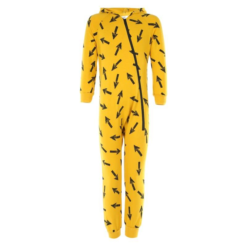 Купить OVL0017, Комбинезон Lien, цв. желтый, 116 р-р, Повседневные комбинезоны для девочек
