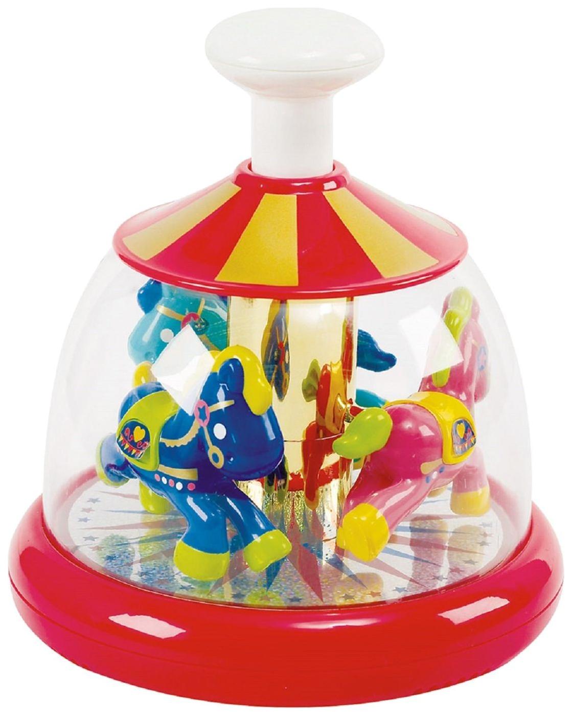 Купить Развивающая игрушка PlayGo Юла с лошадками, Play&Go, Развивающие игрушки