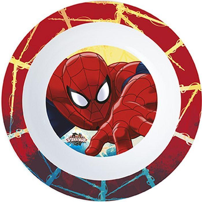 Миска пластиковая Stor (для СВЧ). Человек-паук Красная паутина, артикул 33446 фото