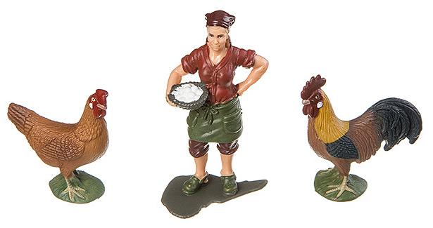 Купить Игровой набор Yako Toys Фигурка С Птицами Серия Мир Вокруг Нас Арт.M7593-12.,