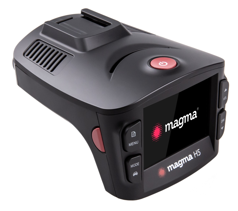 Видеорегистратор с радар-детектором Magma H5 фото