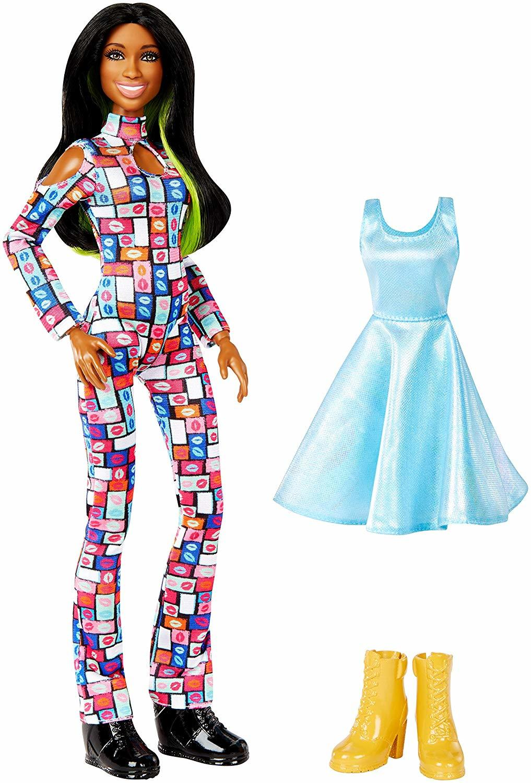 Купить Кукла WWE Superstars Наоми Рестлинг FJC04, Классические куклы