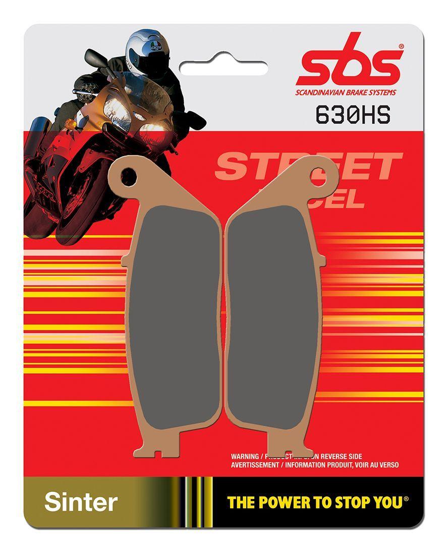 Тормозные колодки передние SBS 630HS для мотоциклов