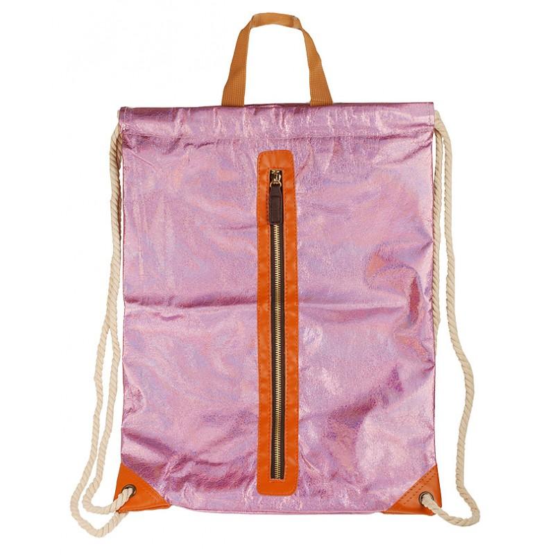 Рюкзак детский Miss Kiss 34*47 розовый 703-MK