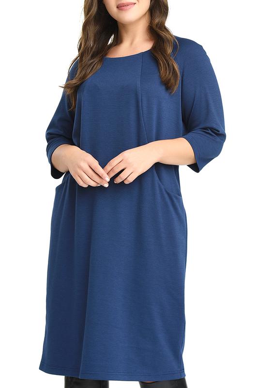 Платье женское SVESTA RKL959BLE синее 64 RU фото