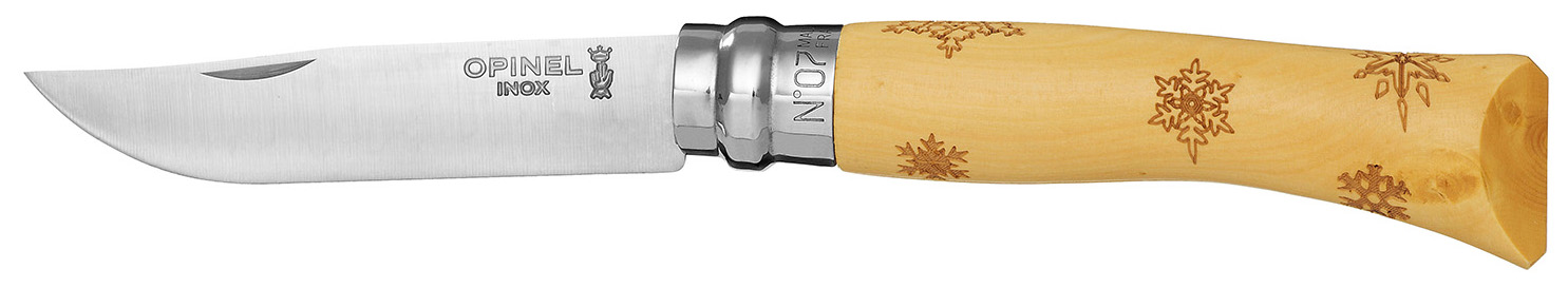 OPINEL №7 TRADITION NATURE SNOW