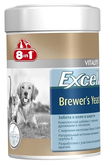 Витаминный комплекс для собак 8in1 Excel, Пивные