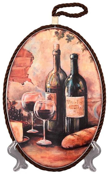 Подставка под горячее Elan Gallery Натюрморт с вином 220100