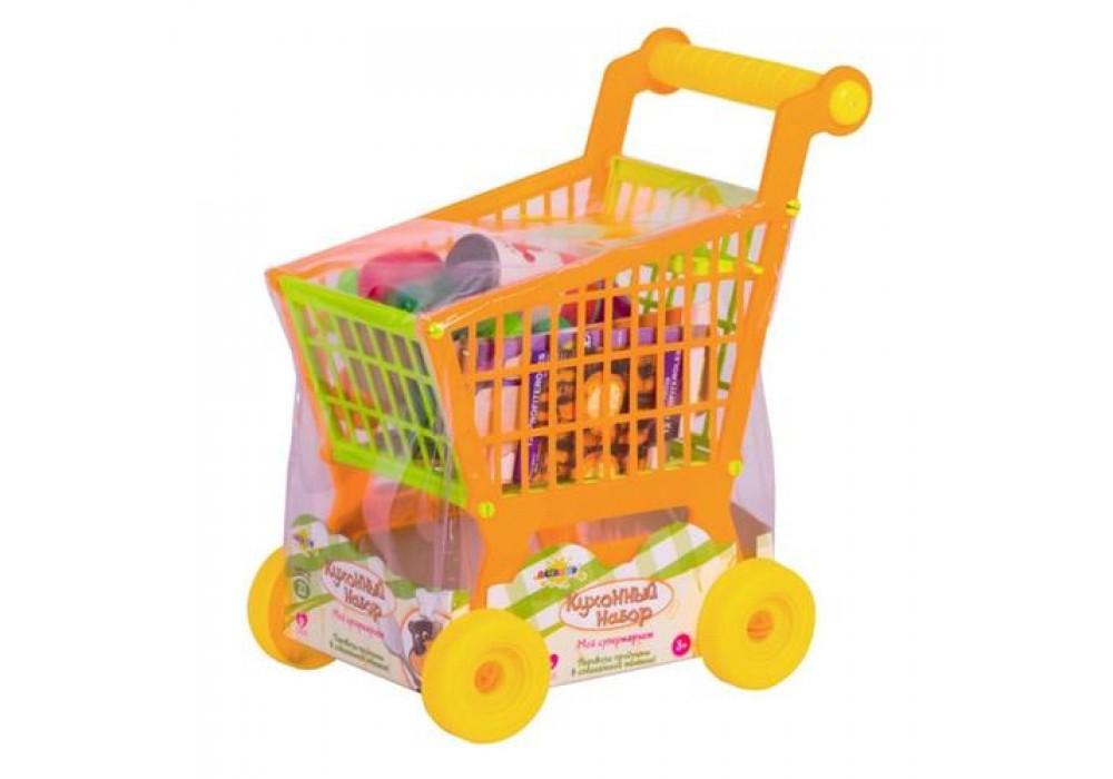 Купить Кухонный Набор Altacto Поход в магазин, Детские тележки для супермаркета