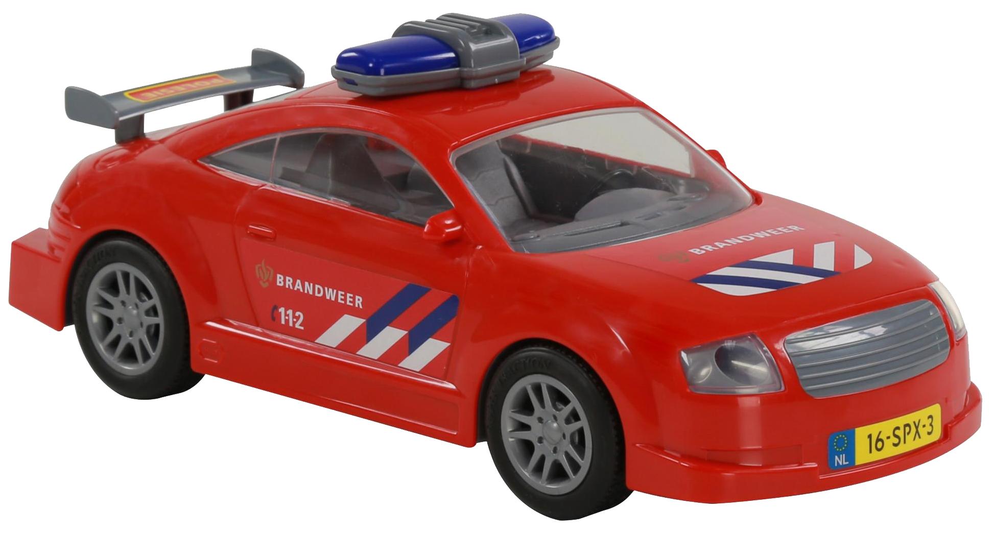 Автомобиль Полесье пожарный инерционный фото
