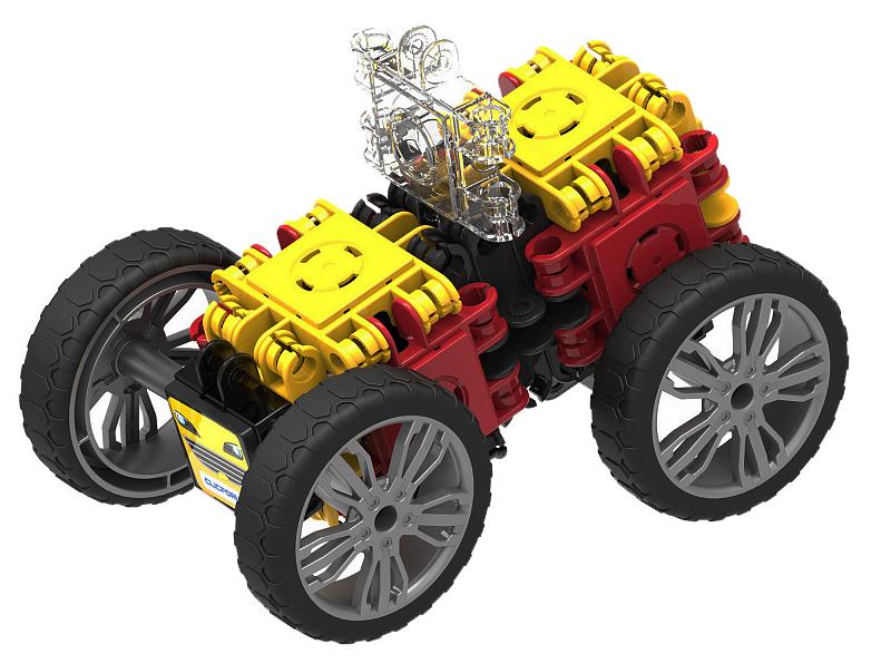 Купить Развивающий конструктор Clicformers Speed Wheel Set 34 детали, арт. 803001,