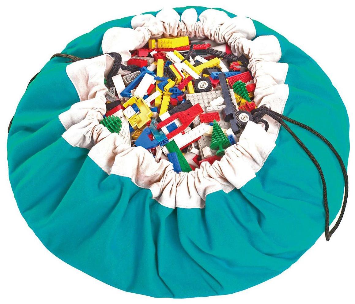 Мешок для хранения игрушек и игровой коврик 2в1 Play#and#Go Бирюзовый