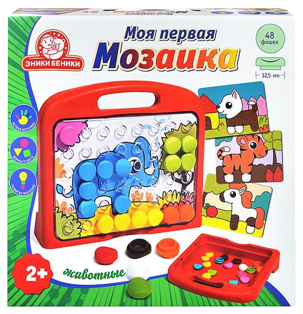 Купить Мозаика в чемоданчике Татой Моя первая мозаика Животные, Мозаики
