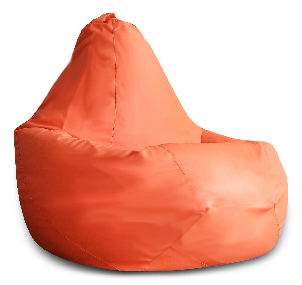Кресло-мешок DreamBag Кресло-мешок, размер XL, экокожа, оранжевый