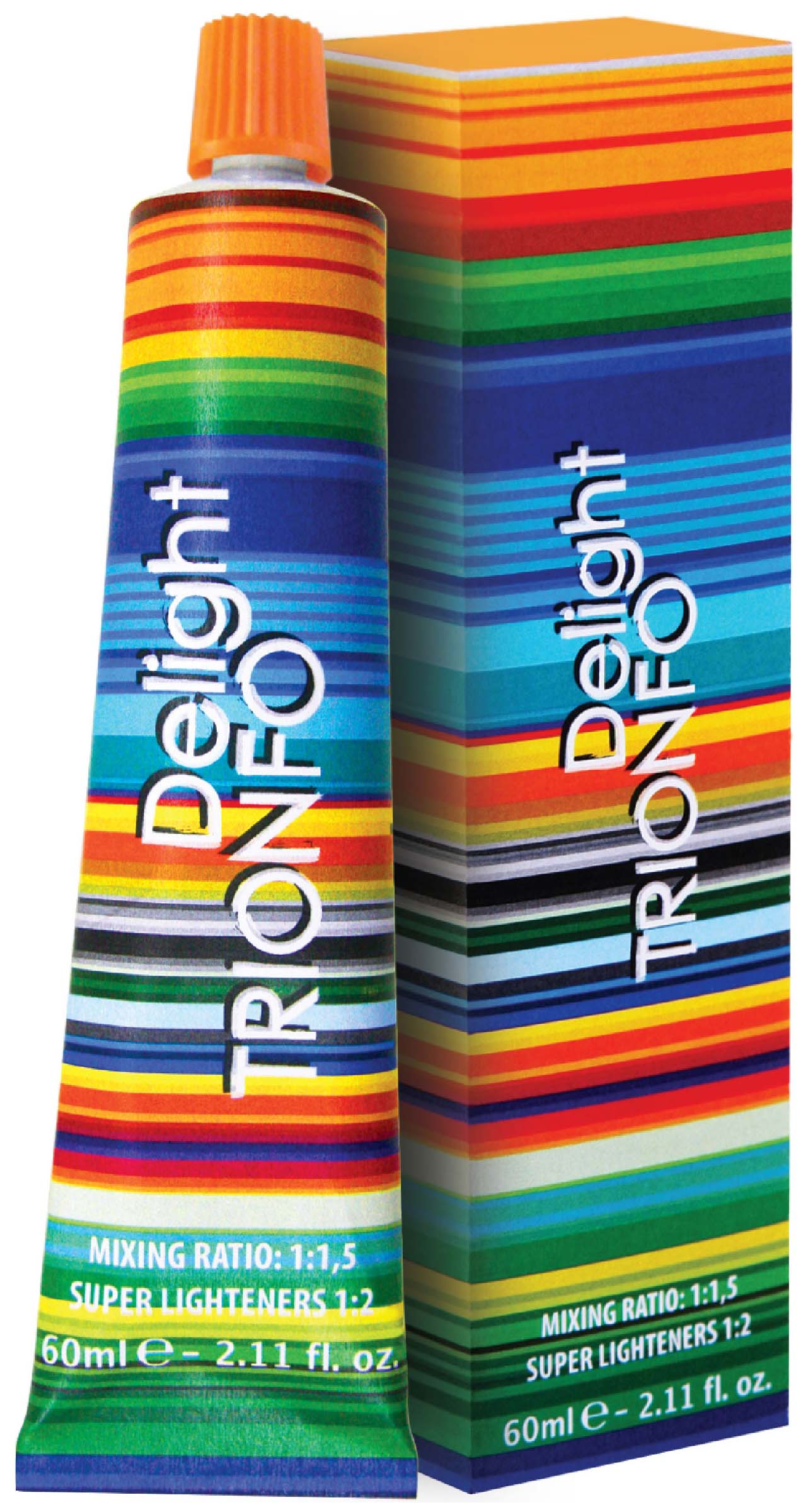 Краска для волос Constant Delight Trionfo 6-68 Темный русый шоколад красный 60 мл