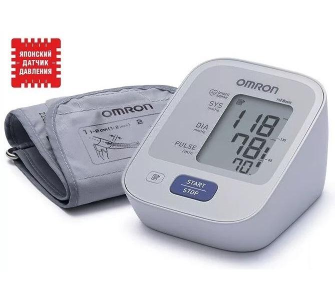 Тонометр с универсальной манжетой адаптером OMRON  M2 BASIC