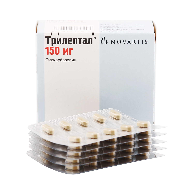 Купить Трилептал таблетки 150 мг 50 шт., Novartis Pharma
