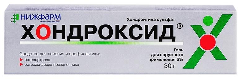 Хондроксид гель гель 5 % 30 г