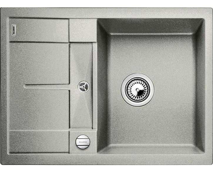 Мойка для кухни гранитная Blanco METRA 45 S Compact 520570 жемчужный
