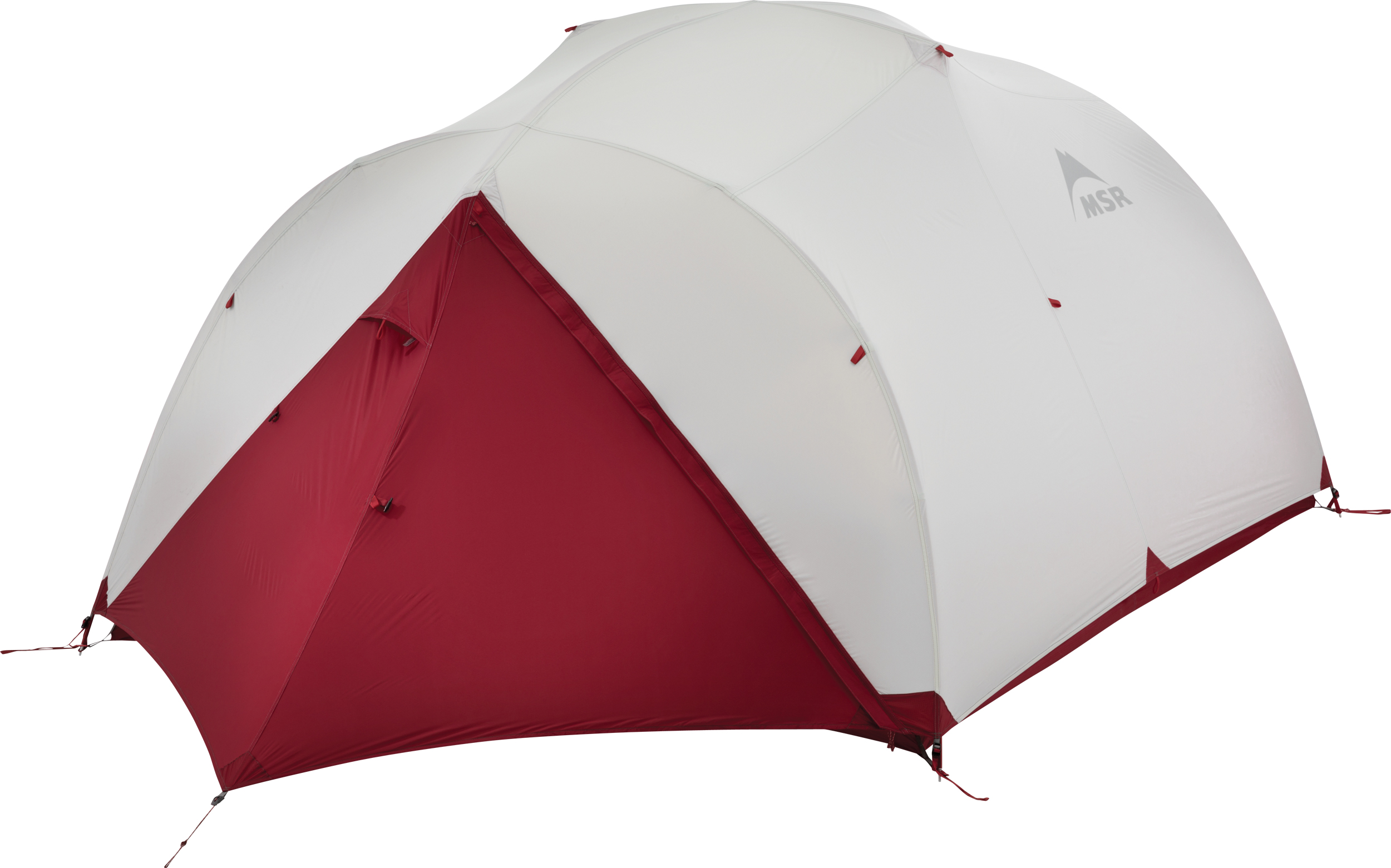 Палатка MSR Mutha Hubba NX серая трехместная