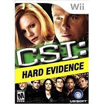 Игра CSI 4: Hard Evidence для Nintendo