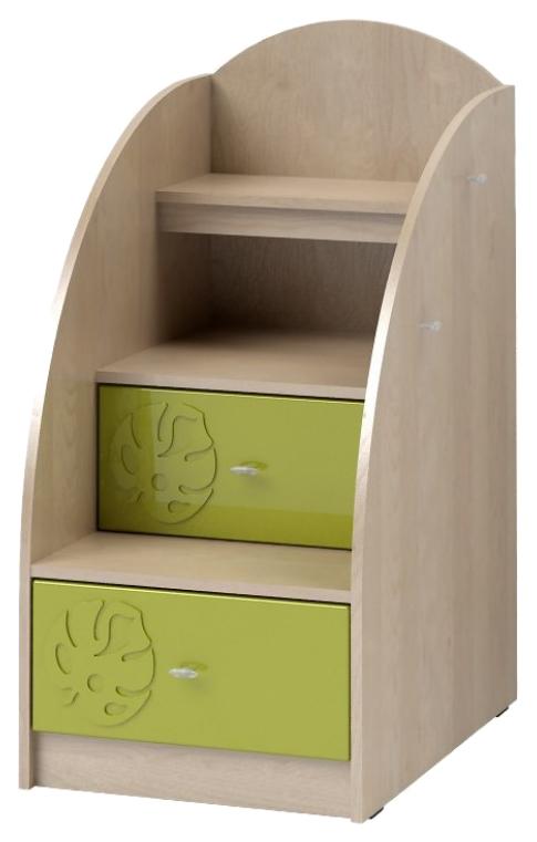 Купить Маугли МДМ-3, Тумба комбинированная Компасс-мебель Маугли KOM_MDM3_1, Детские тумбы
