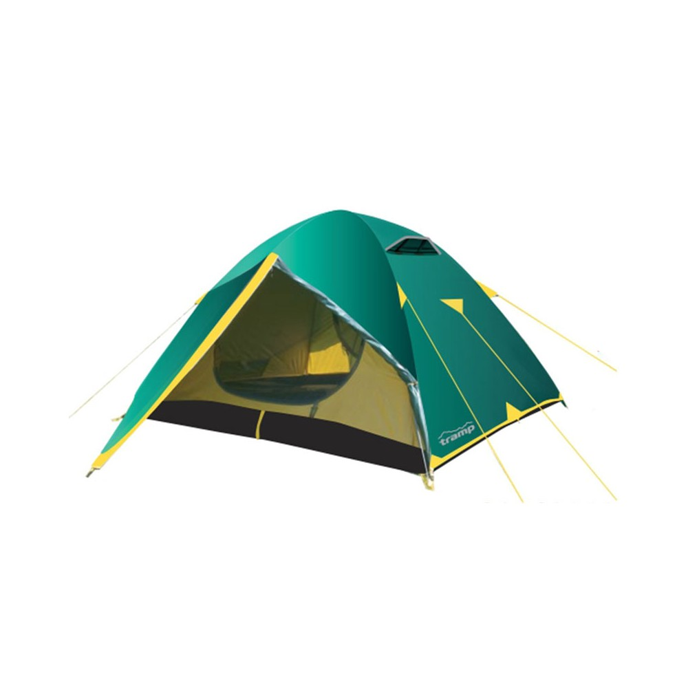 Палатка Tramp Nishe 3 V2 зеленый Цвет зеленый