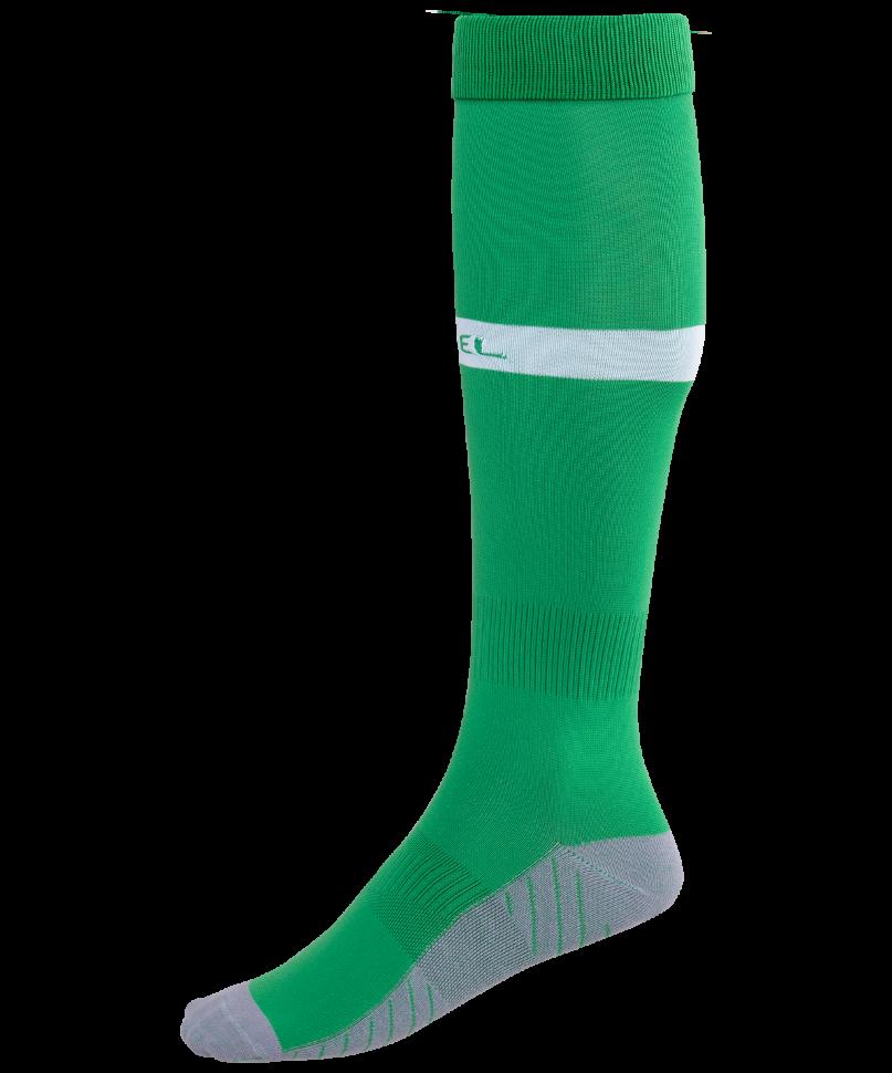 Гетры Jogel JA 003, зеленые/белые, 28