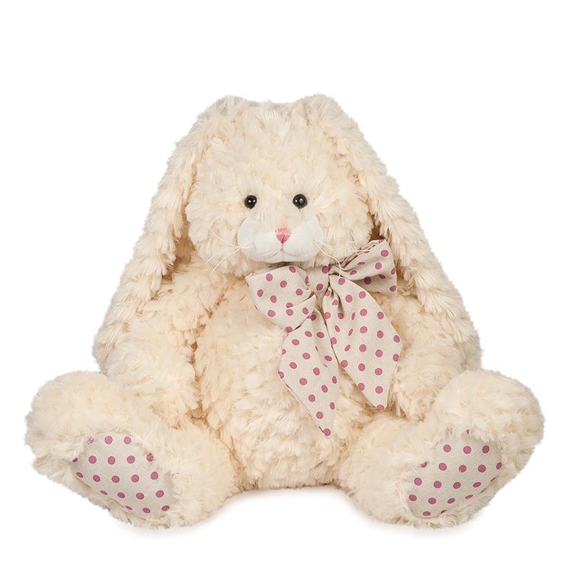 Купить Мягкая игрушка MAXITOYS MT-TS112017-6-35S Зайка Мия 35 см, Мягкие игрушки животные