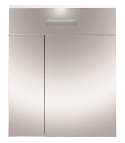 Зеркальный шкаф для ванной Orange Таис 60 Ta-60ZSW