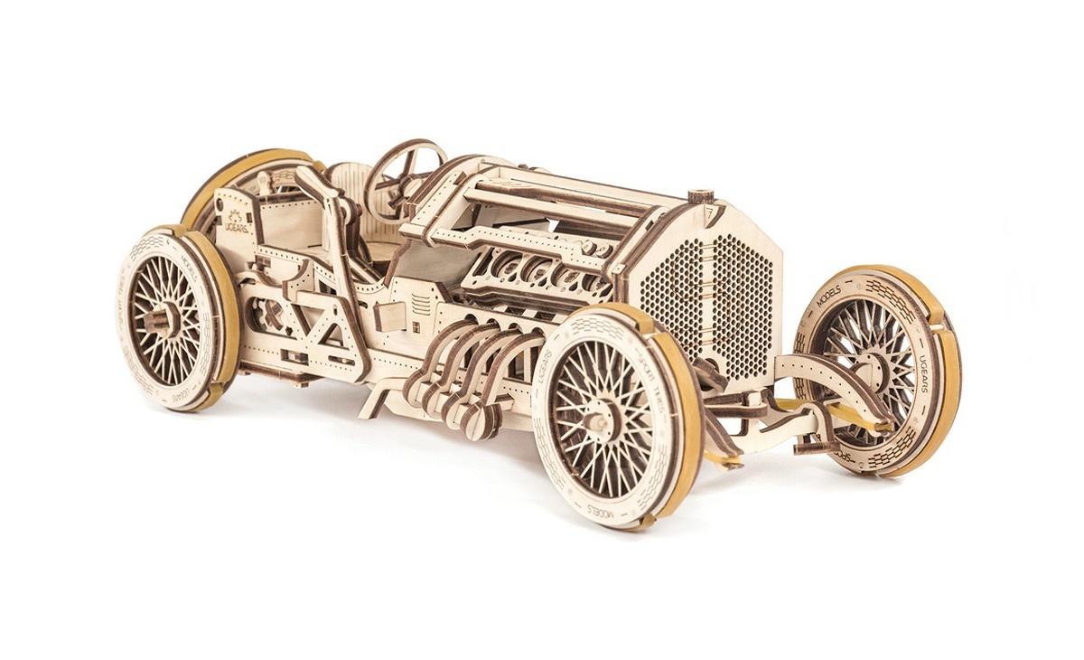Купить Модель товара, 3D-пазл UGEARS машина 348 деталей,