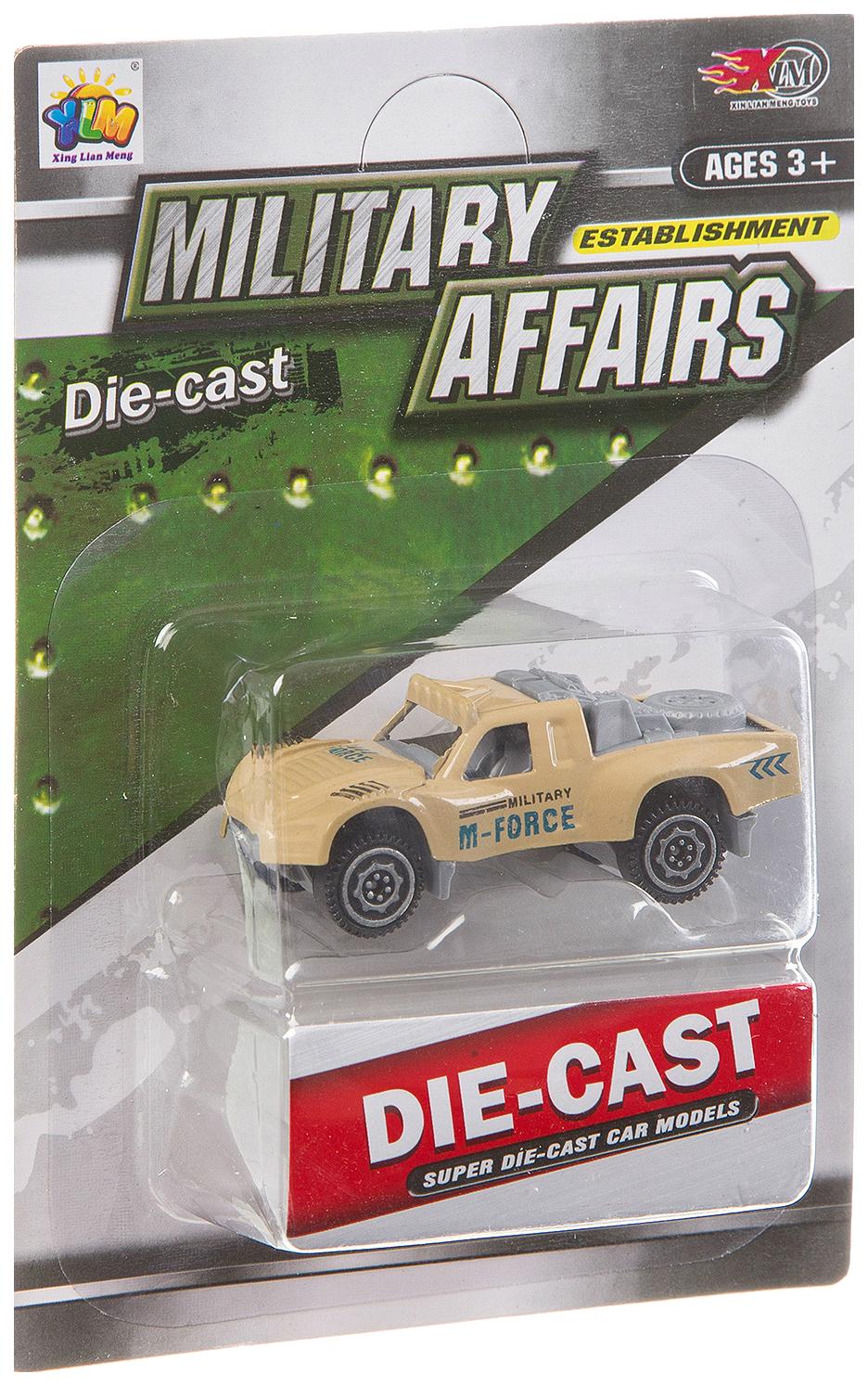 Металлическая мини-машинка Military Affairs