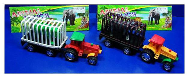 Купить Строительная техника Спецтехника Перевозка животных A9001 в ассортименте, Junfa toys