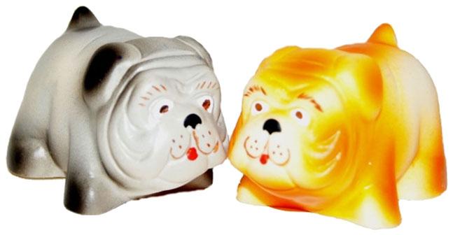 Купить Игрушка для купания Кудесники Собачка Бульдог СИ-781 в ассортименте, ПКФ Игрушки, Игрушки для купания малыша