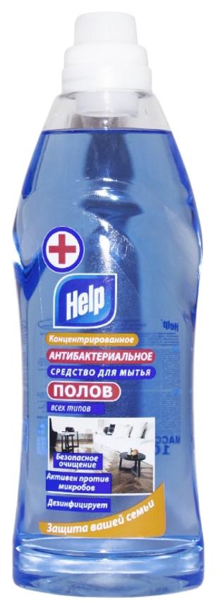 Концентрированное средство для мытья полов Help антибактериальное