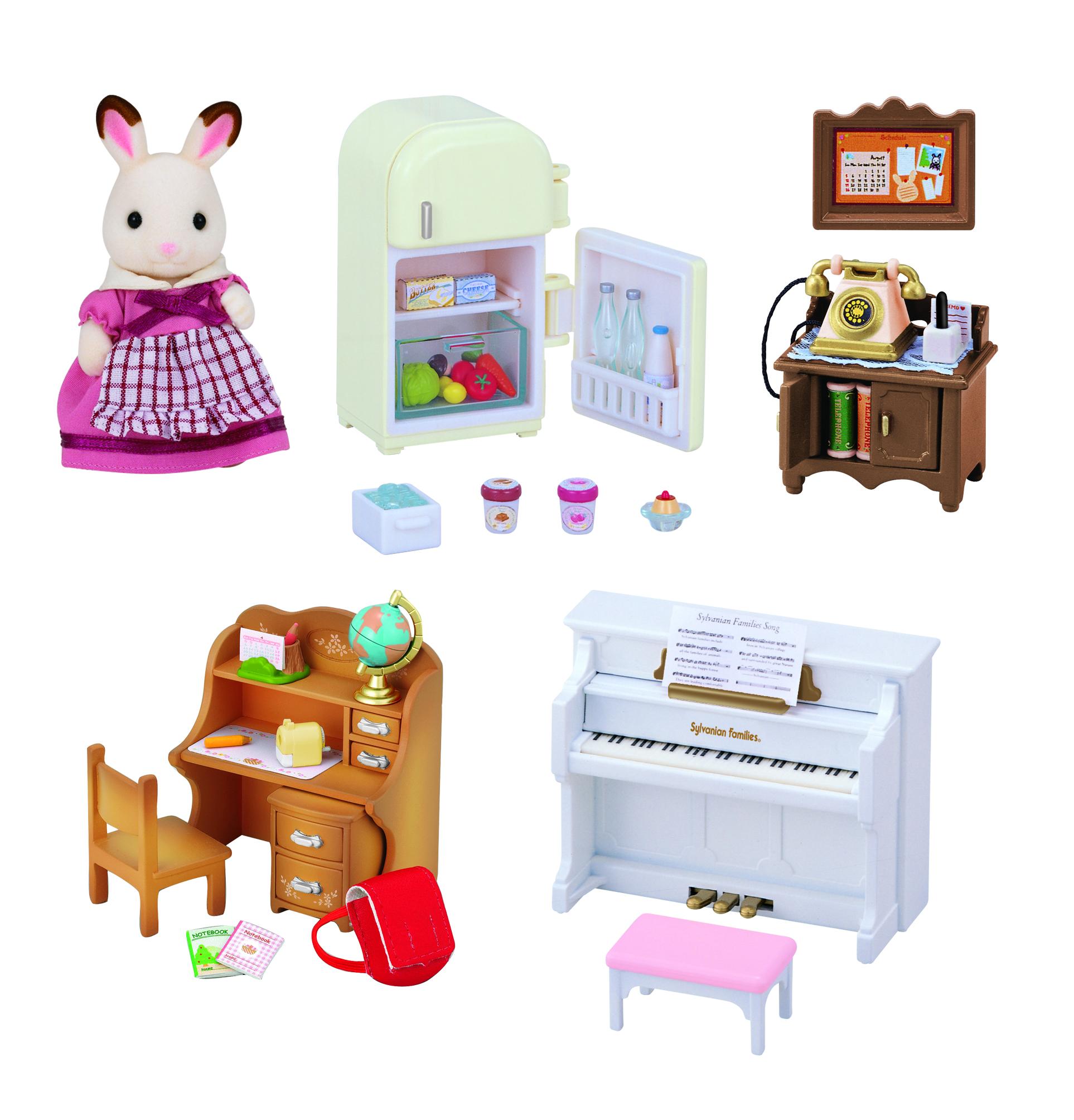 Купить Игровой набор sylvanian families мебель для дома марии, Игровые наборы