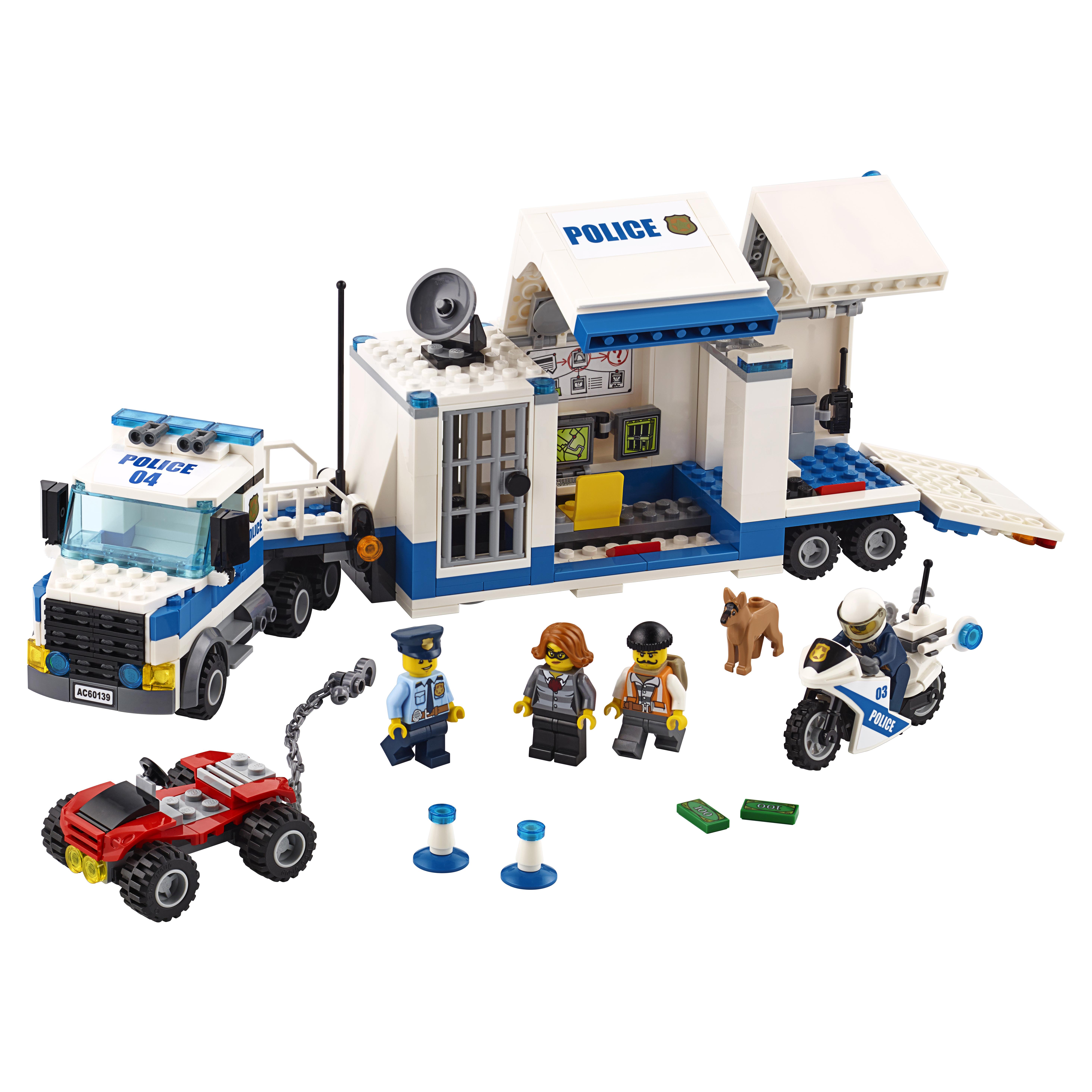 Конструктор LEGO City Police Мобильный командный центр
