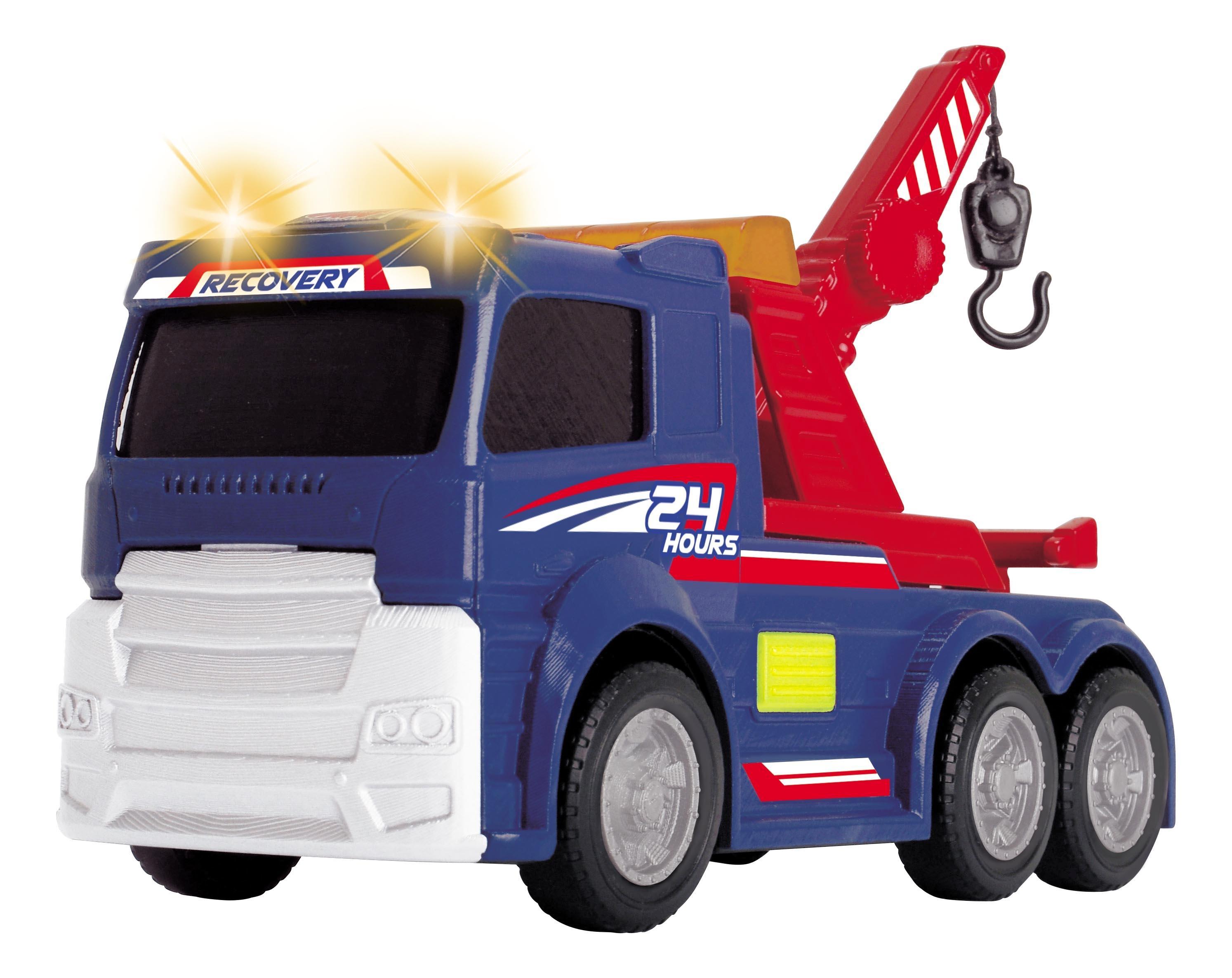 Купить Эвакуатор Dickie со светом и звуком, 15 см, Dickie Toys,